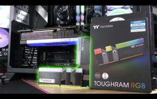 Thermaltake TOUGHRAM RGB 16GB DDR4 4000mhz Kit x 2 – Unboxing