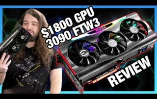$1800 Video Card Review: EVGA RTX 3090 FTW3 Ultra vs. Founders Edition – Thermals, Noise, OC