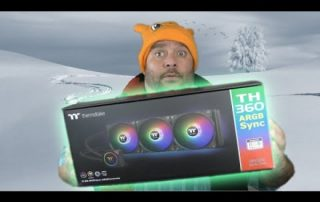 Thermaltake TH360 is a COOL Water cooling Unit – Liquid Cooling Unboxing and overview