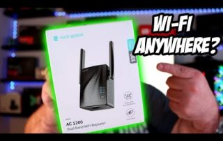 WiFi Range Extender Install – Rock Space AC 1200 Dual Band WiFi Repeater Review