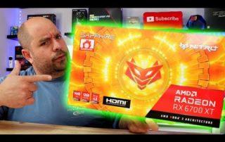 AMD Radeon RX 6700 XT GPU – Sapphire NITRO+ RX 6700 XT OC Graphics Card Unboxing
